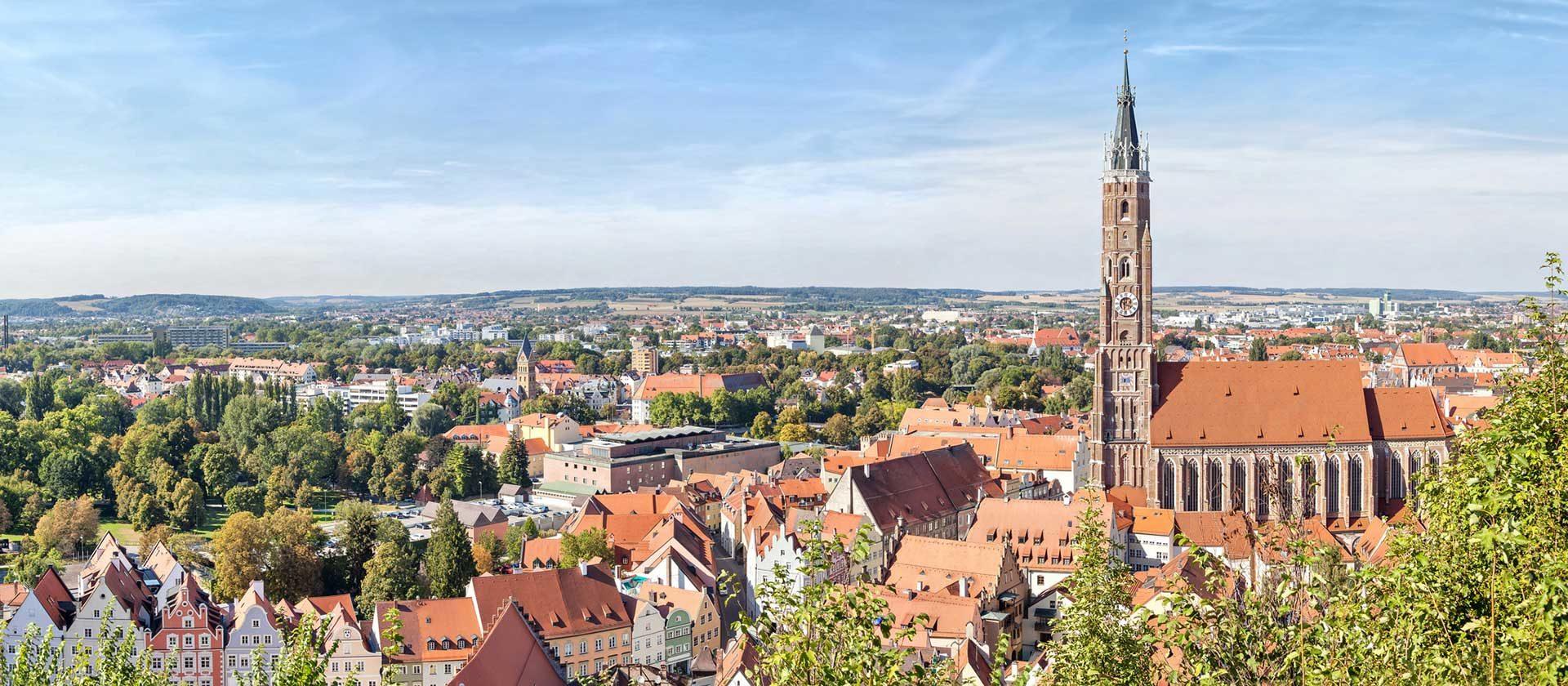 Die Rechtsanwaltskanzlei in Landshut